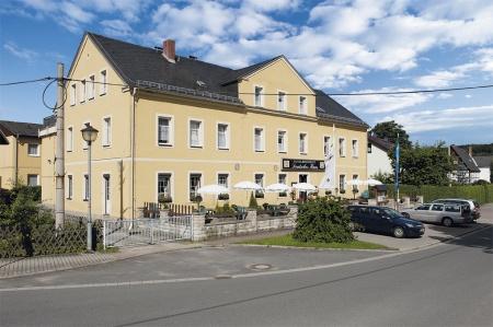 Motorrad Landhotel Deutsches Haus in Gohrisch/ OT Cunnersdorf in Sächsische Schweiz