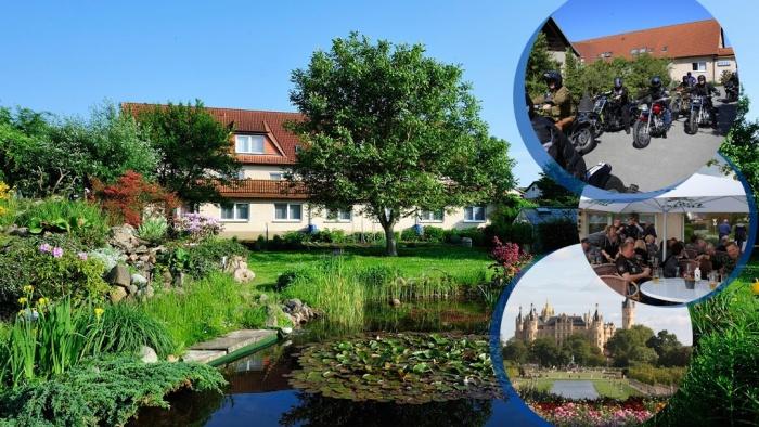 Hotel for Biker Hotel Gasthaus zum Rethberg in Lübstorf in Mecklenburgische Seenplatte
