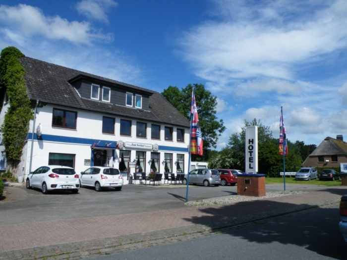 Motorrad Landgasthof Hotel zum Norden in Jagel bei Schleswig in Binnenland / Schlei