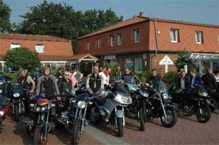 Hotel for Biker Hotel Wittorf in Neumünster in Holsteinische Schweiz