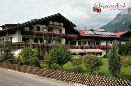 Motorrad Hotel Garni Gerberhof in Oberstdorf in Allgäu