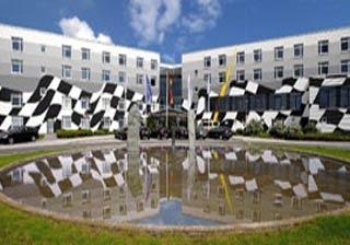 Motorrad Hotel Motorsport Arena in Oschersleben in