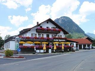 Motorrad Aggenstein Gasthof-Hotel in Pfronten - Steinach in Allgäu