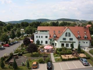 Motorrad Hotel zum Kloster in Rohr in Thüringer Wald
