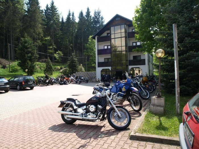 Hotel for Biker Hotel Ladenmühle in Altenberg OT Hirschsprung in Erzgebirge