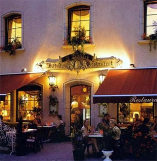 Motorrad Hotel-Restaurant Le Pavillon in Echternach in