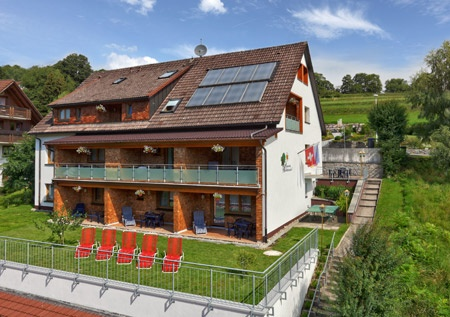 Hotel for Biker Pension Waldwinkel in Lenzkirch in Schwarzwald