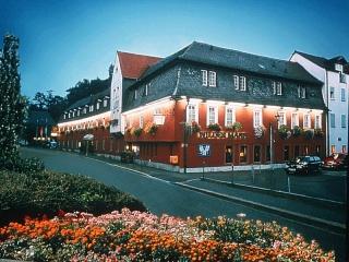 Hotel for Biker Hotel Wilder Mann in Aschaffenburg in Spessart