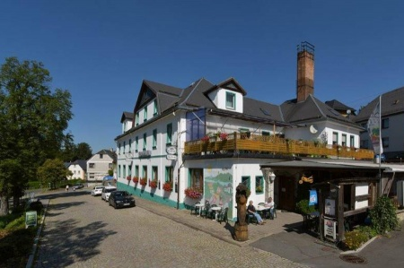 Motorrad Motorrad- Wellness- Hotel Zur Krone in Ebersdorf in Thüringer Wald