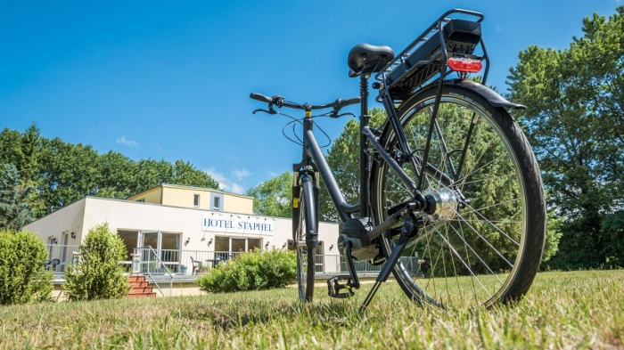 Motorrad Hotel Staphel in Sassnitz in