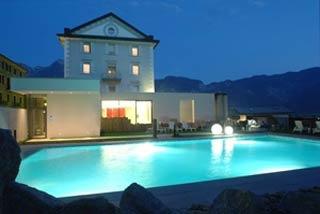 Motorrad BellaVista Relax Hotel in Levico Terme in Levico Terme
