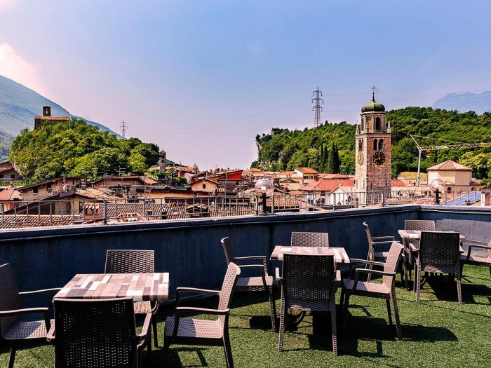 Hotel for Biker Hotel Doria in Nago in Gardasee