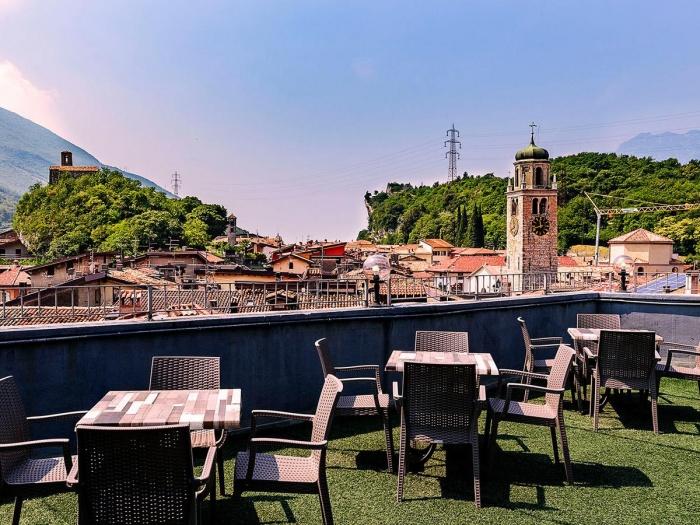 Motorrad Hotel Doria in Nago in Gardasee