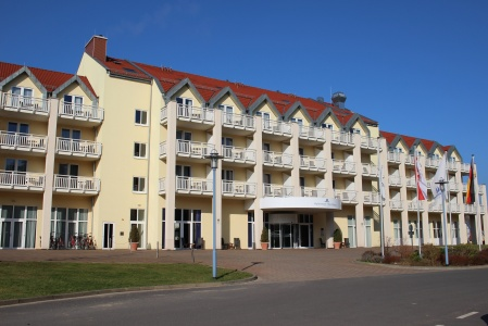 Hotel for Biker Maritim Hafenhotel Rheinsberg in Rheinsberg in Ruppiner Land
