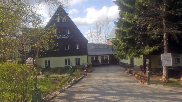 Motorrad Garden Hotel Schellerhau in Altenberg in Erzgebirge