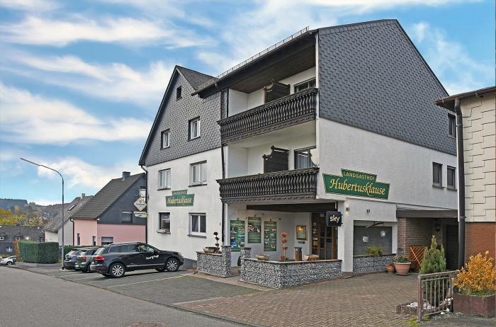 Motorrad Landgasthaus Hotel Hubertusklause in Bad Marienberg in Westerwald