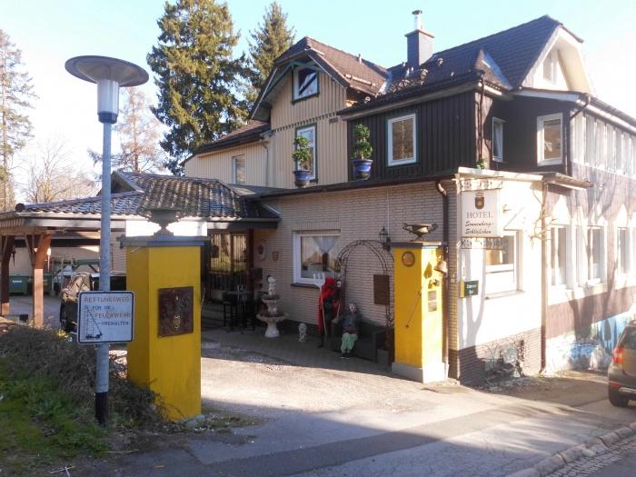 Motorrad Hotel Sonnenberg-Schlößchen in Braunlage in Harz