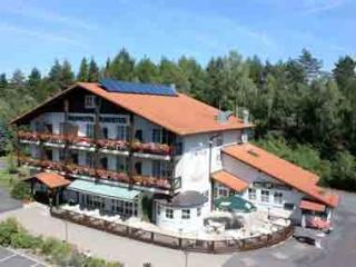 Motorrad Waldhotel Hubertus in Eisfeld in Thüringer Wald