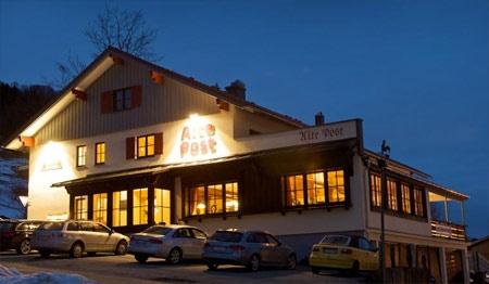Hotel for Biker Landhaus Alte Post in Oberstaufen-Lamprechts in Allgäu