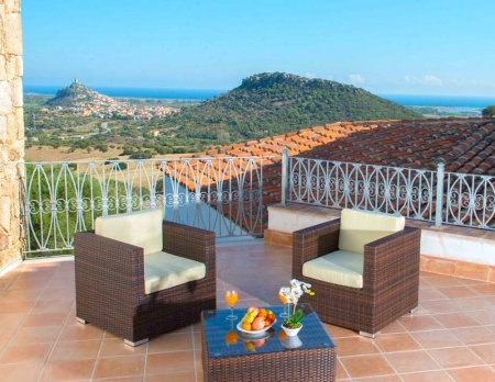 Hotel for Biker Agriturismo Su Vrau in Posada in Sardinien