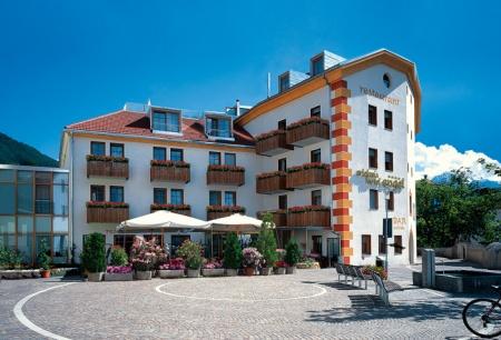 Motorrad Hotel Engel in Schluderns in Vinschgau