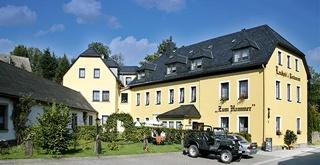 Motorrad Landhotel zum Hammer in Tannenberg / Erzgebirge in Erzgebirge