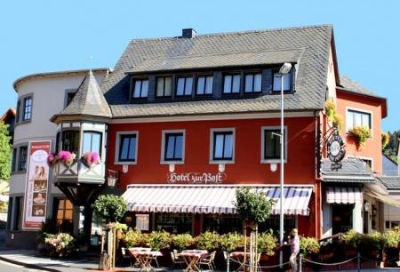 Motorrad Hotel zur Post in Waldbreitbach in Westerwald