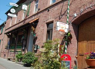 Motorrad Hotel Drei Lilien in Werbach in