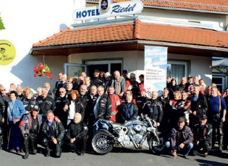 Hotel for Biker Hotel Riedel in Zittau in Zittauer Gebirge