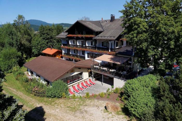 Motorrad Hotel Sonnenhof in Zwiesel in Bayerischer Wald
