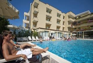 Hotel for Biker Park Hotel Kursaal in Misano Adriatico (RN) in Nördliche Adriaküste