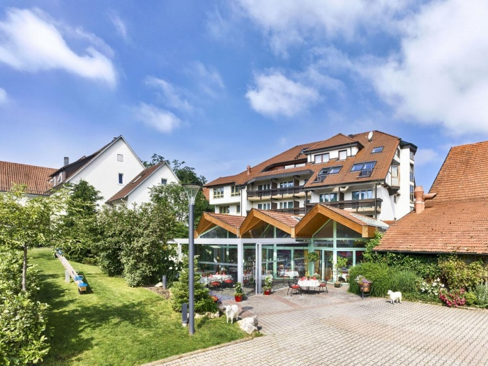Motorrad Akzent Hotel Lamm in Ostfildern- Scharnhausen in