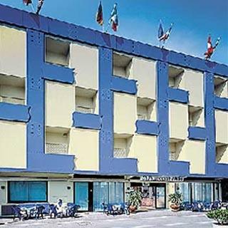 Motorrad Hotel Cavalluccio Marino in Gabicce Mare in Adriaküste
