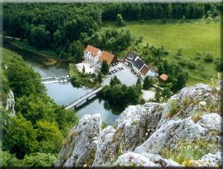 Hotel for Biker Hotel Gasthof Neumühle in Beuron - Thiergarten in Schwäbische Alb