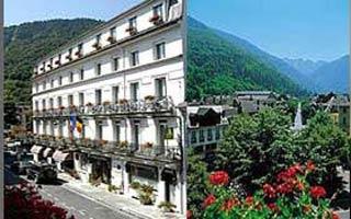 Motorrad Hotel Panoramic in Bagnères-de-Luchon / Luchon in Französische Pyrenäen