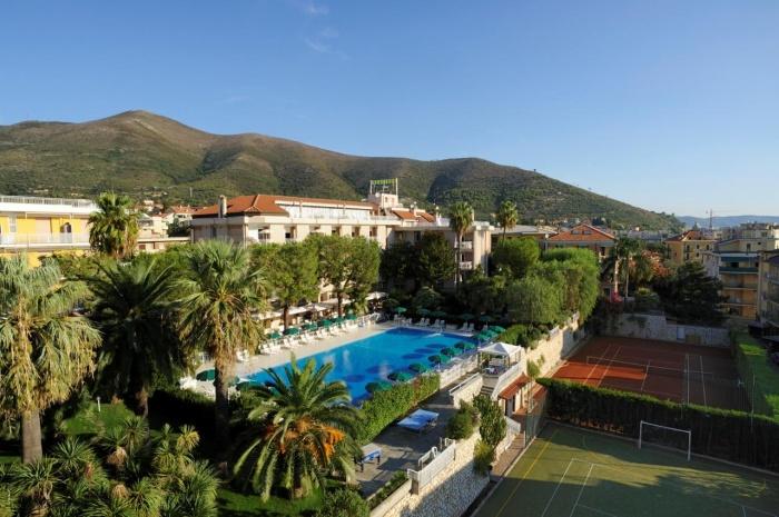 Motorrad Hotel Residence Oliveto in Ceriale (SV) in