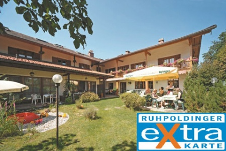 Hotel for Biker Zum Hirschhaus Hotel-Restaurant in Ruhpolding in Chiemgau