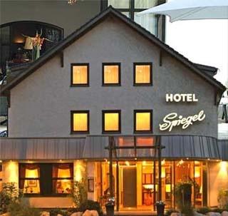Flughafen Hotel Spiegel liegt nur 2km vom Flughafen Köln / Bonn entfernt.