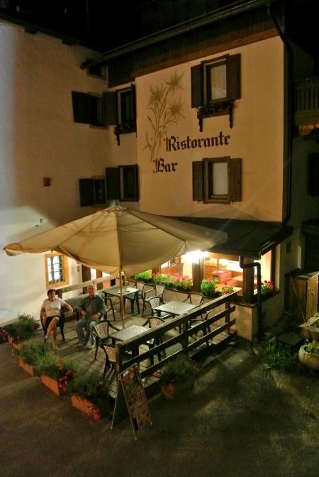 Motorrad Hotel Stella Alpina in San Pietro di Cadore in Dolomiten
