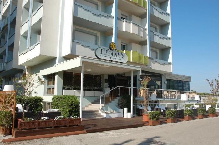 Hotel for Biker Hotel Tiffany´s in Cattolica (RN) in Nördliche Adriaküste