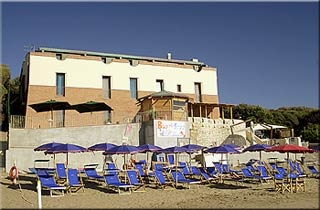 Motorrad Hotel Villa Tramonto in San Vincenzo in Etruskische Küste