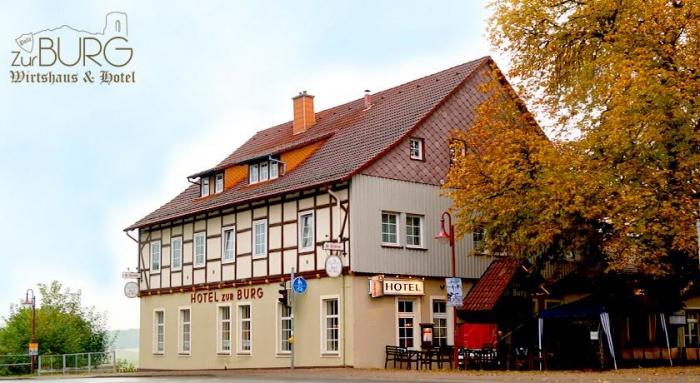 Motorrad Hotel zur Burg in Polle in
