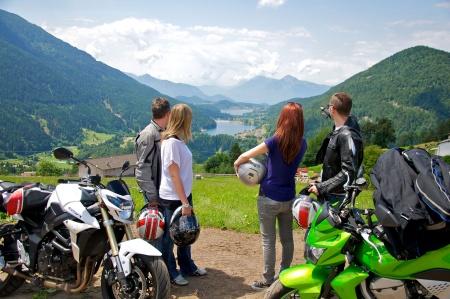 Motorrad Active Pineta Hotel Camping Restaurant in Baselga di Pine - Dolomiten in Dolomiten