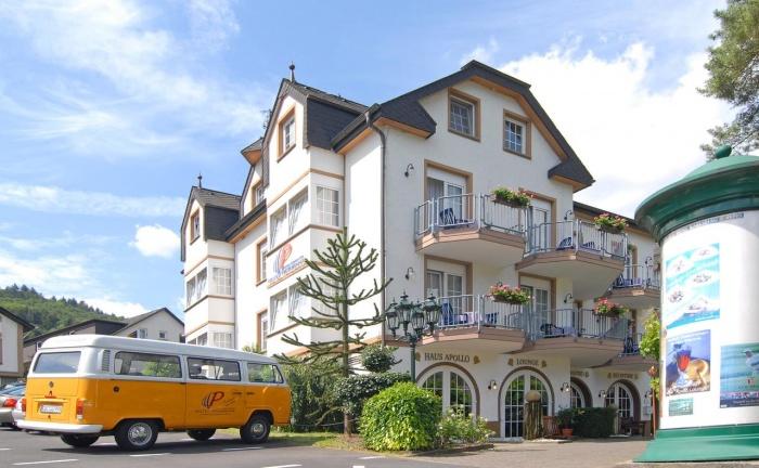 Motorrad Moselromantik Hotel Panorama in Cochem in Mosel