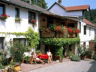 Hotel for Biker Landpension RISCH in Bücheloh bei Ilmenau in Thüringer Wald