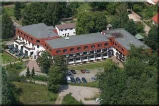 Motorrad Waldhotel Wandlitz in Wandlitz in Barnimer Wald