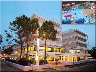 Motorrad Hotel Metropolitan in Cesenatico Valverde