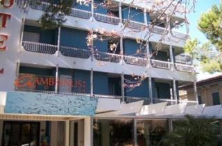 Fahrradfahrerfreundliches Hotel Gambrinus in Riccione (RN)