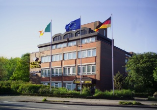 Fahrradfahrerfreundliches Carat Hotel Hamburg in Hamburg