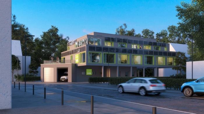 Fahrradfahrerfreundliches   Nicetostay Aparthotel in Bremen